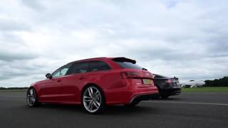Download Tesla Model S vs. Audi RS6 - Top Gear Video