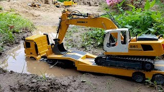 Download Dump truck for children | Excavator for kids | ABC Bi Bi Kids Video