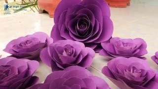 Download guidance as confetti - Hướng dẫn làm hoa giấy Video