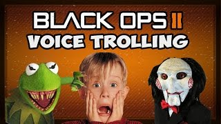 Download Kermit the Frog & Jigsaw Scare EVERYONE! (Epic Black Ops 2 Voice Trolling) Video