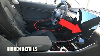Download Tesla Model 3 Interior Hidden Details Video