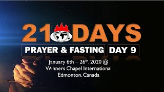Download 21 Days Prayer and Fasting - day 9 - January 14, 2020 Video