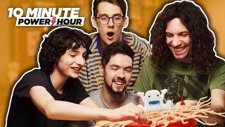 Download Yeti In My Spaghetti (ft. Finn Wolfhard & Jacksepticeye) - Ten Minute Power Hour Video