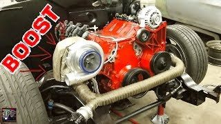 Download Turbo 5.3 LS Engine Final Install (Painting and Perfecting) | L33 Swapped S10 Minitruck Build Video
