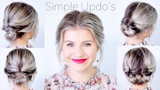 Download Simple Elegant Updo Hairstyles For Medium Length Hair | Milabu Video