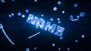 Download FREE 3D Blue Sync Intro Template #489 [Cinema 4D & AE] Video