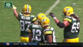 Download Davante Adams ridiculous catch from Aaron Rodgers against Jacksonville Video