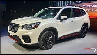 Download 2019 Subaru Forester Sport – Redline: First Look – 2018 NYIAS Video