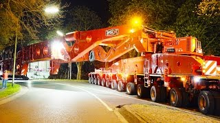 Download Heavy Transport - 600 Tons get stuck | High Girder Bridge Video