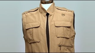 Download How a Tilley Explorer Vest is made - BrandmadeTV Video