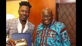 Download Visit by the ″Dancehall King″, Shatta Wale to President Nana Addo Dankwa Akufo-Addo office Video