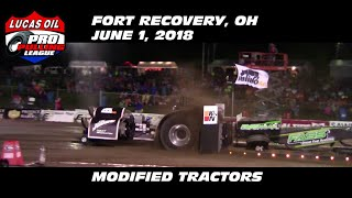 Download 6/1/18 PPL Fort Recovery, OH Modified Tractors Video
