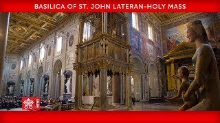 Download Pope Francis-Basilica of St. John Lateran- Holy Mass 2019-11-09 Video