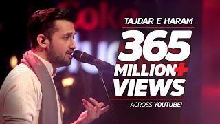 Download Atif Aslam, Tajdar-e-Haram, Coke Studio Season 8, Episode 1. Video