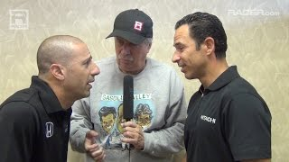 Download IndyCar: Robin Miller with Tony Kanaan and Helio Castroneves Video