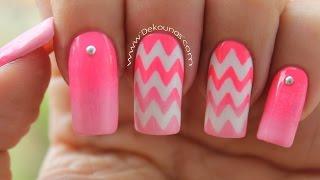 Download Decoración de uñas zig zag - chevron nails Video