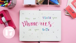 Download How To Track Memories in Your Bullet Journal | Plan With Me Video