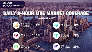 Download LIVE market coverage: Monday, October 14, 2019 Yahoo Finance Video