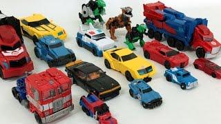 Download Transformers Optimus Prime Bumblebee Autobot Car Toys 트랜스포머 옵티머스 프라임 범블비 오토봇 자동차 장난감 로봇 변신 동영상 Video