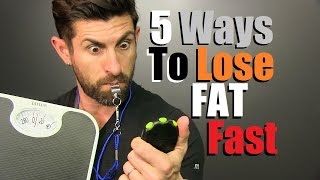 Download Get Lean QUICK! 5 Ways To Lose Body Fat FAST Video