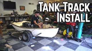 Download Tank Boat Transformation! | Amphibious Boat Kart Pt. 4 Video