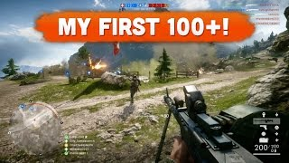 Download MY FIRST 100+ KILL GAME! - Battlefield 1 | Road to Max Rank #27 (Multiplayer Gameplay) Video