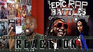 Download Wonder Woman vs Stevie Wonder. Epic Rap Battles of History REACTION Video