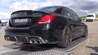 Download BRABUS 650 4.0 Biturbo V8 C63 S AMG! Start, Revs, Overview! Video