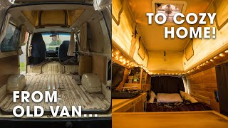 Download How I Converted an Old Van Into My Home and Office! (Campervan Conversion + Tour) Video