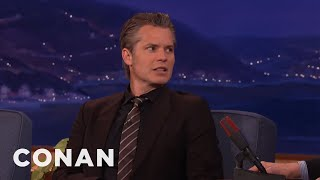 Download Timothy Olyphant Smoked Willie Nelson's Weed - CONAN on TBS Video