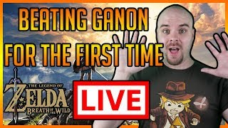 Download Zelda - Breath of the Wild - Beating The Game - 10 Hour Livestream - Part 7 Video