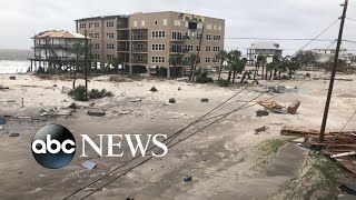 Download ABC News' Ginger Zee details riding out Hurricane Michael Video