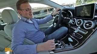 Download Our Test Drive of the New Mercedes-Benz C-Class W205 (German) Video