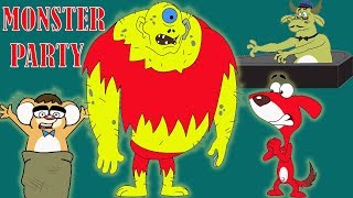 Download Rat-A-Tat |'Scary Monster Party Full Episodes Halloween Cartoons'|Chotoonz Kids Funny Cartoon Videos Video