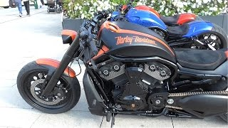 Download Rare Harley Davidson by Porsche - Burnouts and Brutal Sounds Video