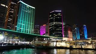 Download Vivid Sydney 2017 Time Lapse Compilation Sydney Opera House, Harbour Bridge, Circular Quay Video