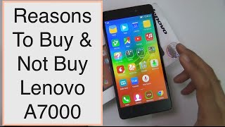 Lenovo A7000 AOSP V 1 1 ROM 5 0 Preview [HD] Free Download