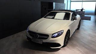 Download Mercedes-Benz S63 AMG Cabriolet 2017 Exhaust Sound, In Depth Review Interior Exterior Video