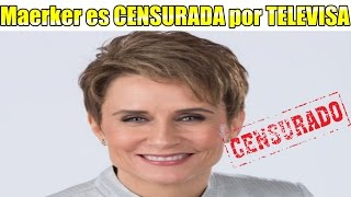 Download Denise Maerker es CENSURADA por TELEVISA en 10 en Punto Video