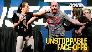 Download UFC Unstoppable Press Conference Staredowns Video