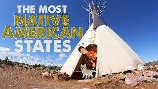 Download The Most NATIVE AMERICAN STATES in AMERICA Video