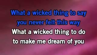 Download Wicked Game Karaoke Video