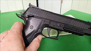 Download Sig Sauer X-Five 4,5mm DiaboloVersion Co2 Pistole/AnalyseCheck by WPU Video