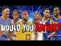 Download NBA WOULD YOU RATHER! (2018 EDITION) Video