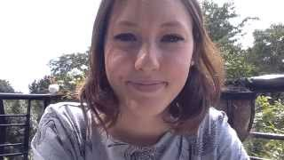 Download Staring Contest with cute girl at the park (Eye contact Practice) Video