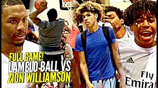 Download FULL GAME Zion Williamson vs LaMelo Ball; A Match-Up Made For The Internet!! Video