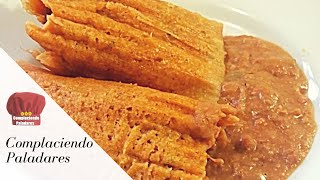Download TAMALES DE PUERCO EN CHILE COLORADO RECETA-COMPLACIENDO PALADARES Video