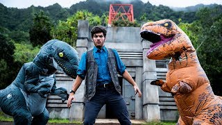 Download Jurassic World Meets Parkour in Real Life Video