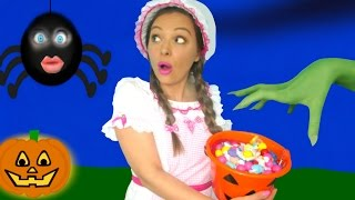 Download Halloween songs for Children, Kids and Toddlers with Little Miss Muffet Video