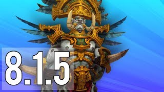 Download 8.1.5 PTR AND ALL THE UPDATES TO COME! - WoW: Battle For Azeroth 8.1.5 Video